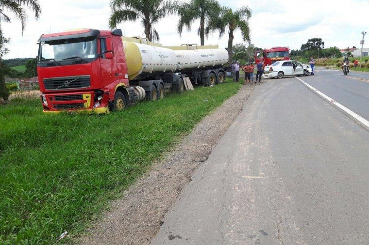 Grave acidente na Colônia Maciel