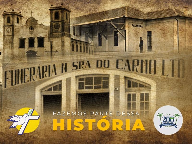 Nós fazemos parte dos 200 anos da história de Palmeira