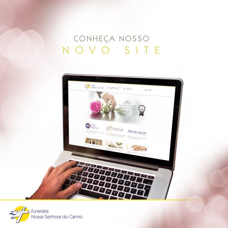 Novo site da Funerária Nossa Senhora do Carmo